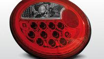Stopuri VW New Beetle Rosu Alb pe LED
