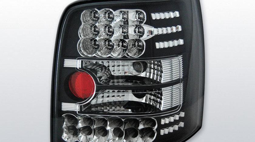Stopuri VW Passat 3B Variant negru pe LED