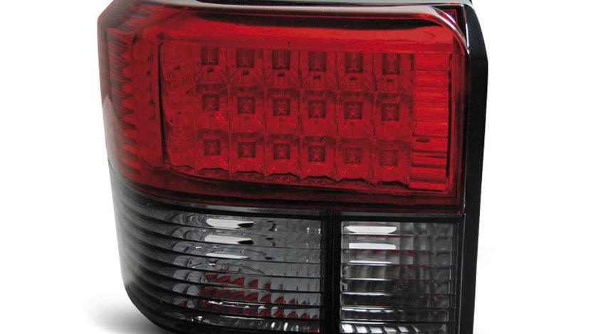 Stopuri VW T4 intre 1990 - 2003 Rosu Fumuriu pe LED