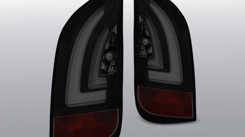 Stopuri VW UP! 3.2011- / SKODA CITIGO 12.2011- model negru-fumuriu cu LED BAR