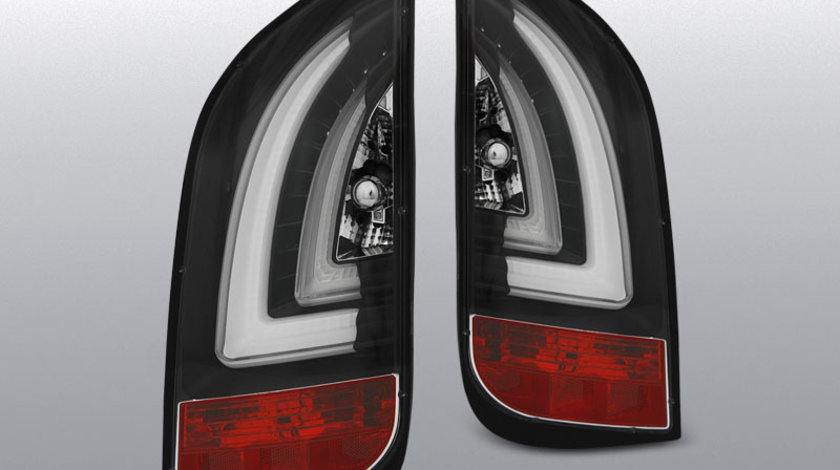 Stopuri VW UP! 3.2011- / SKODA CITIGO 12.2011- model negru cu LED BAR