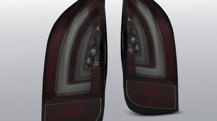 Stopuri VW UP! 3.2011- / SKODA CITIGO 12.2011- rosu-fumuriu cu LED BAR