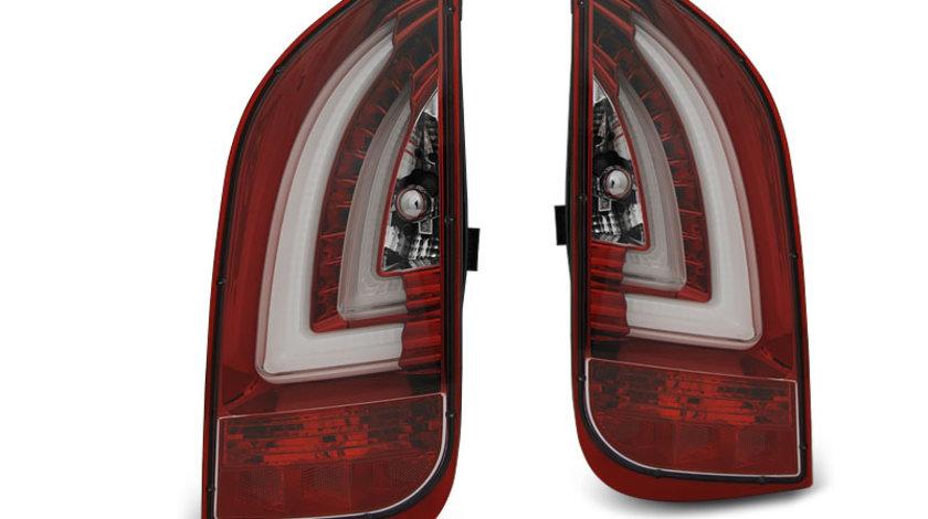 Stopuri VW UP! dupa 2011- / Skoda Citigo dupa 2011- Rosu Alb model LED BAR