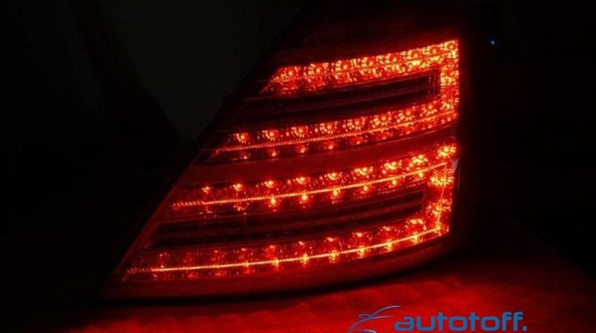 Stopuri W221 Mercedes S Klasse Full LED