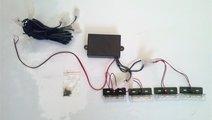 Stroboscoape cu LED 5335-4 12V PORTOCALIU