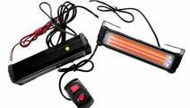 Stroboscoape LED COB portocaliu profesionale 12/24...