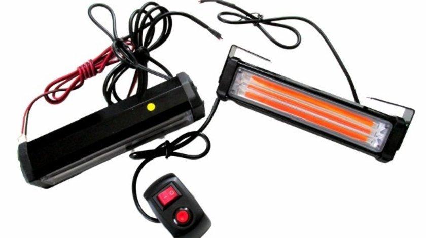 Stroboscoape LED COB portocaliu profesionale 12/24v 36W