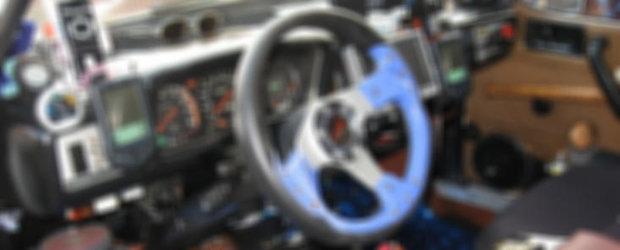 Styling interior de exceptie: Renault 1310 4x4 de Buzau!