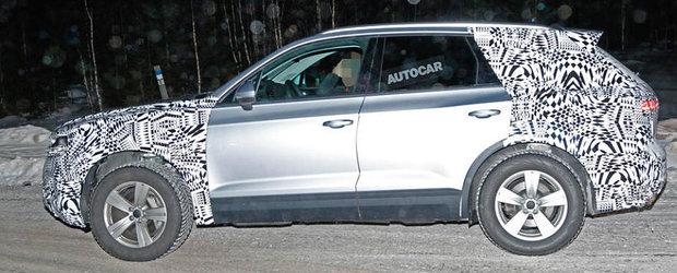 Sub camuflajul acestui prototip se ascunde cea de-a treia generatie a modelului Volkswagen Touareg