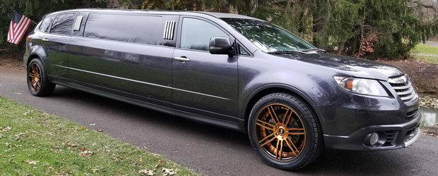 Subaru a construit aceasta limuzina pentru un client de-al sau. Acum, clientul o vinde pentru aceasta suma de bani