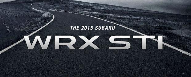 Subaru anunta noul WRX STI. VEZI cand va avea loc debutul oficial!