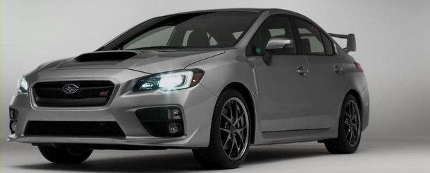 Subaru anunta performantele noului WRX STI. Oarecum...