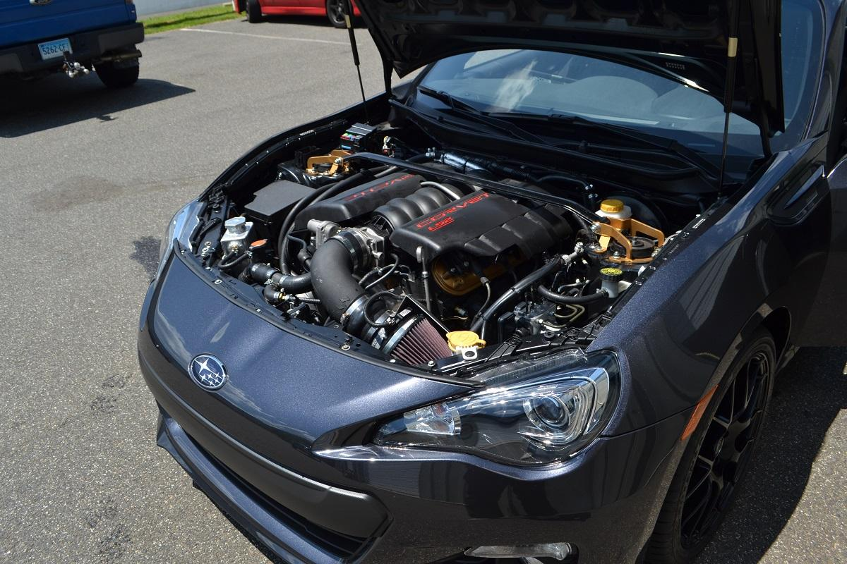 Subaru BRZ cu motor V8 - Subaru BRZ cu motor V8