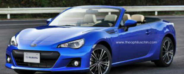 Subaru BRZ primeste o versiune convertible