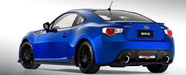 Subaru BRZ Turbo debuteaza anul viitor, va beneficia de 280 CP si 340 Nm