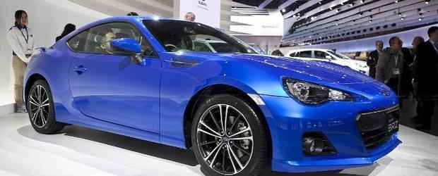 Subaru confirma o varianta de BRZ supra-alimentata