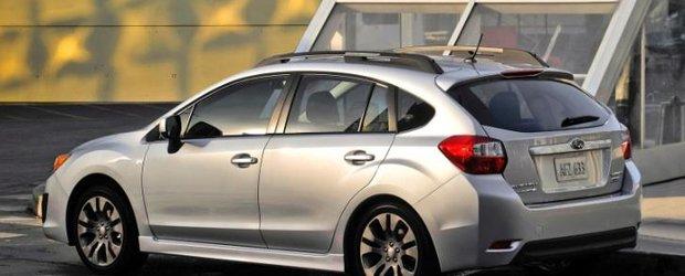 Subaru Impreza 2012 a primit punctaj maxim de la IIHS