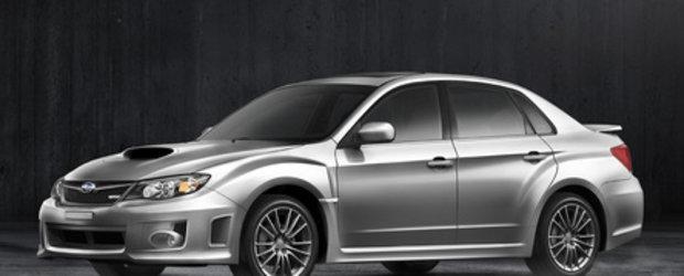 Subaru Impreza WRX ia proportii pentru modelul 2011