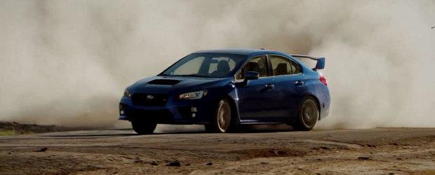 Subaru isi promoveaza noul WRX STI cu o reclama absolut fabuloasa