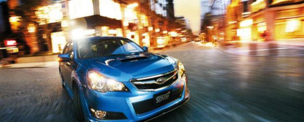 Subaru Legacy 2.5GT tS soseste in Japonia