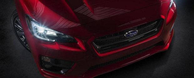 Subaru publica primul teaser foto al viitorului WRX