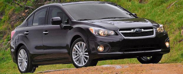 Subaru recheama in service noile modele Impreza, Legacy si Outback