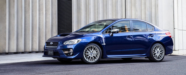 Subaru WRX S4 SporVita vine cu 300 CP si... piele italiana