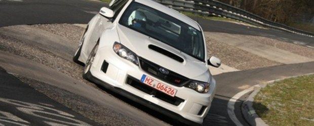 Subaru WRX STI stabileste un nou record la Nurburgring!
