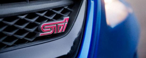 Subaru WRX STI: VEZI Cum arata noul sedan de performanta al japonezilor!