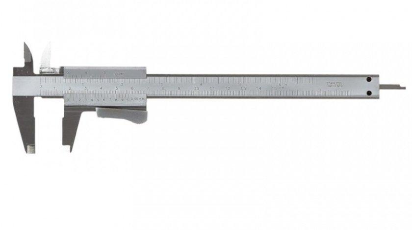 SUBLER METRIC-IMPERIAL 150MM / PRECIZIE 0.05MM