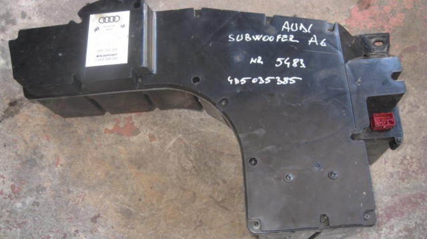 Subwoofer audi a6