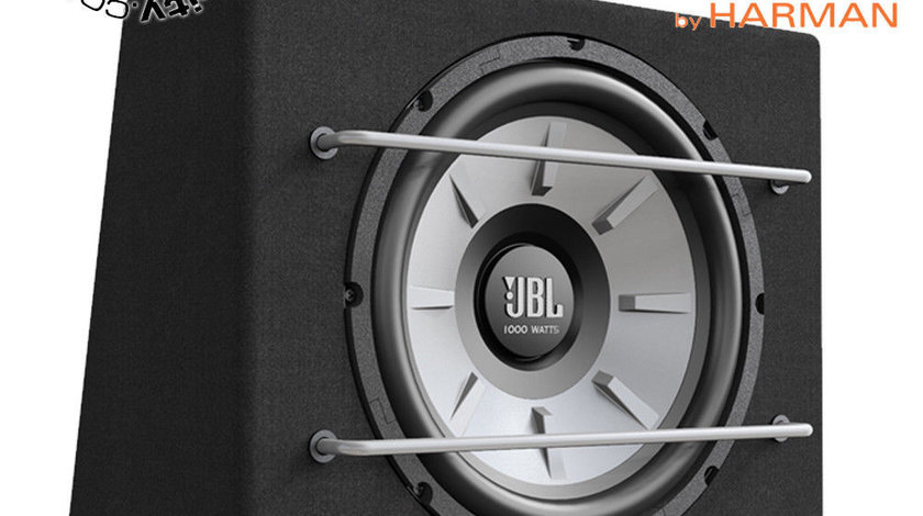 "SUBWOOFER AUTO JBL STAGE 1200B INCINTA TIP CUB DIFUZOR 30 CM (12"") PUTERE 250W RMS MAX. 1000W"
