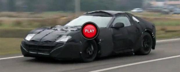 Succesorul modelului Ferrari 599, surprins intr-un nou video spion