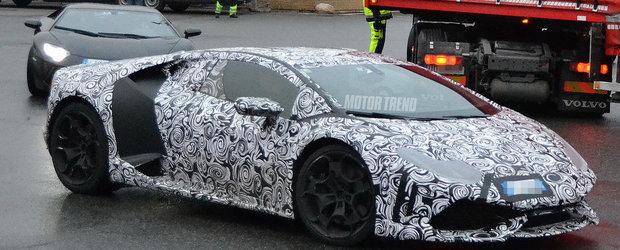 Succesorul modelului Lamborghini Gallardo s-ar putea numi... Huracan