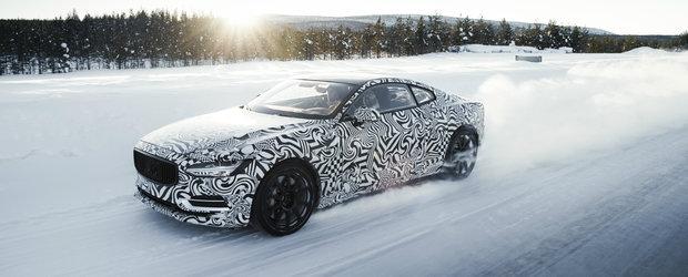 Suedezii au inceput testele cu noul Polestar 1. Coupe-ul cu 1.000 Nm cuplu a indurat temperaturi de -25 de grade