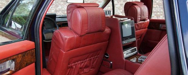 """Sultanul din Oman si-a scos la vanzare vechea limuzina de lux. """"Este unica in lume!"""""""