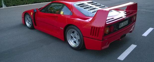 Suma record pentru care s-a vandut acest Ferrari F40
