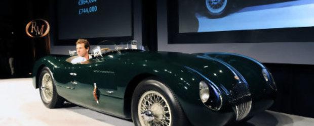 Suma record pentru un Jaguar C-Type din 1952, 2.530.000 $