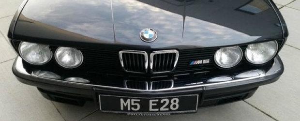 SUMA scandaloasa pentru care se vinde acest BMW M5 E28