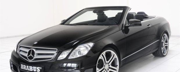 Summertime: Mercedes E-Class Cabrio by Brabus