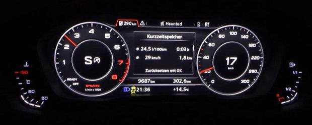 Suna bine si accelereaza uimitor. Uite in cat timp ajunge Audi-ul A5 2.0 TFSI la 100 de km/h