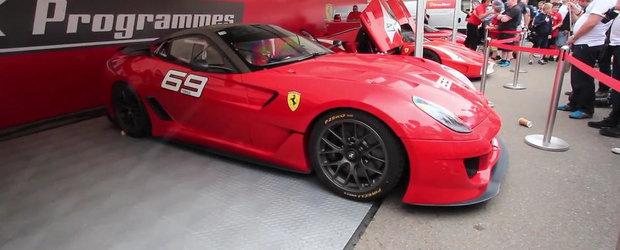 Sunetele scoase de Ferrari-urile XX ar putea intimida chiar si un monopost F1