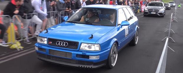 Sunetul acestui Audi S2 de 800 de cai iti va face pielea de gaina. Asculta-l daca nu ne crezi