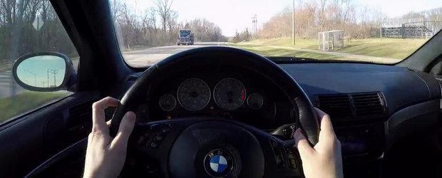 Sunetul Apocalipsei: Un BMW M5 E39 terorizeaza strazile cu evacuarea sa directa