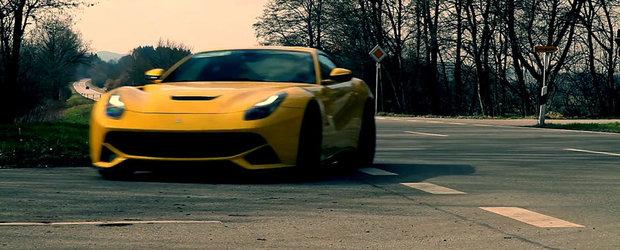 Sunetul Atractiei: Ferrari F12 Berlinetta cu evacuare Novitec Rosso