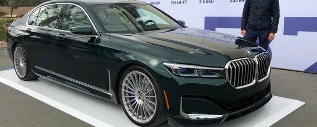 Sunetul celui mai rapid sedan din lume. VIDEO in detaliu cu noua limuzina de 600 CP de la ALPINA