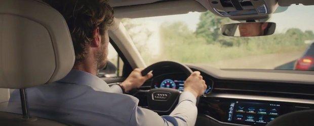 Sunt cele mai clare imagini de pana acum. Uite cum arata la interior noul Audi A8!