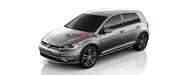 Sunt imaginile momentului. Uite cum arata noul Volkswagen Golf 7 Facelift!