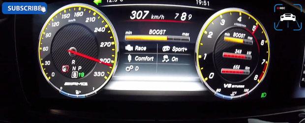 Sunt multe masini sport care nu ating o asemenea viteza. Demonstratie de forta cu limuzina momentului in Germania
