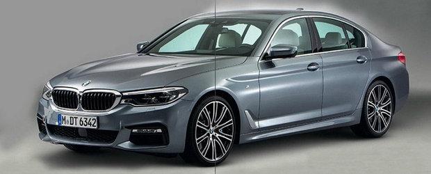 Sunt primele imagini ale noului BMW Seria 5. Masina bavareza arata ca un mini-Seria 7